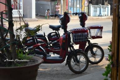 Electric Scooter Bagan Myanmar