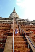 Buddhist Temple Bagan Myanmar