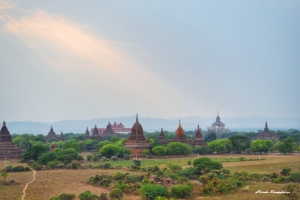 Buddhist Temple Bagan Myanmar